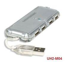 CablesOnline 4-Port Mini Hi-Speed USB 2.0 Hub, UH2-M04