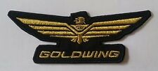 "Honda ""Goldwing"" ~ Iron Sew On Cloth Patch"