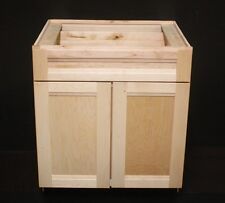 "Kraftmaid Natural Maple Kitchen  Base Cabinet 30"" x24"" x34.5"" tall"