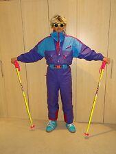 Rétro vintage années 80 années 90 combinaison de ski fluo snowbombing stag apres ski combinaison degré 7