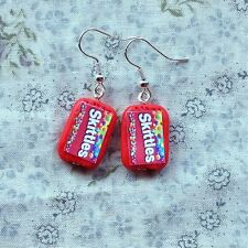 earrings Skittles Drop Candy Sweets Cute Emo Kitsch easter gift