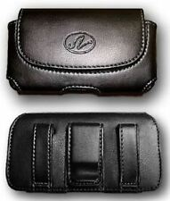 Leather Case Pouch Holster w Belt Clip for TMobile HTC Amaze 4G, One S Ville