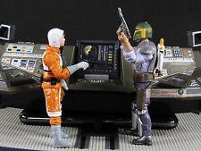 """Hasbro Star Wars 3.75"""" Figur 1:18 Starfighter Luke Skywalker Boba Fett S50-S51"""