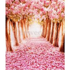 5x7FT Sakura Flower Valentine's Day Studio Photography Background Photo Backdrop
