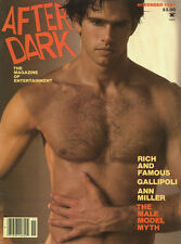 Vintage 1981 AFTER DARK Magazine BRUCE WEBER Cover MALE MODEL ISSUE Scarce NM