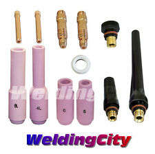"TIG Welding Regular Setup Accessory Kit (3/32"") Torch 17/18/26 T10B 
