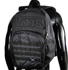 Vans 2016 Vuniversity SkatePack Mens Black/Charcoal Backpack School Laptop Bag