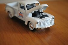 Diecast Truck White 1950 GMC Pickup Yat Ming 1:64 US Classic Limited Edition