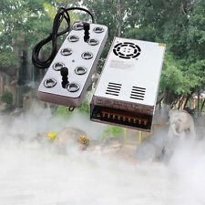 220V 10 head Ultrasonic mist maker fogger humidifier Hydroponics + transformer
