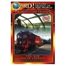 Luxury Trains of the World: The New Polar Express (2004, REGION 1 DVD New)