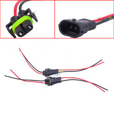 H11 H8 880 881 Female & Male Adapter Plug Wiring Harness Socket For Headlights