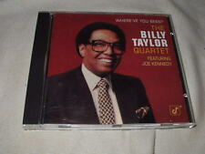 BILLY TAYLOR Where've You Been (1981) CD Concord Jazz Piano Violin Joe Kennedy