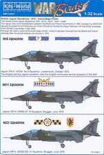 Kits World Decals 1/32 BRITISH JAGUAR SQUADRONS Camo