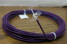10 feet 24 AWG Violet Shielded Silver Plated PTFE  Wire Coax