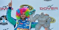 2013 Jimmie Johnson NEW Madagascar Rainbow WIG hat cap as worn in Dover Race Win