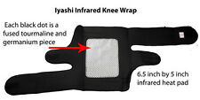Iyashi Magnetic & Infrared Knee Support Wraps - Far Infrared therapy