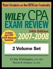 Wiley CPA Examination Review 2007-2008, Set (Wiley Cpa Examination Review)