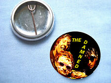The Damned 25mm  Badge Punk Sex Pistols The Clash The Stranglers Television
