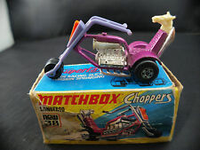 Matchbox Superfast  New #38 Stingeroo Chopers moto en boite/inbox