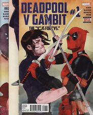 DEADPOOL V GAMBIT #1,2,3,4 & 5 Marvel Comics Uncanny X-Men THE V IS FOR VS. Set!