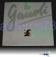 """THE ALAN PARSONS PROJECT """"GAUDI'"""" RARE LP ITALY SEALED"""
