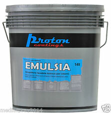 EMULSIA - Idropittura lavabile traspirante per interni - 14 lt - base BIANCA