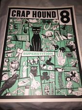 Crap Hound 8 New Superstitions Rare Out Of Print Tattoo Flash Clip Art Halloween