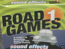 Road Games 1 Sound Effects Audio CD Age 4+ 80+ Sounds