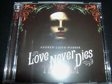 Love Never Dies Andrew Lloyd Webber Original Soundtrack 2 CD - Like New