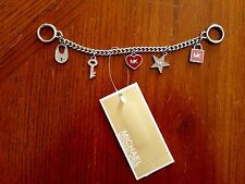 NWT Michael Kors Mini Bag Charm Handbag Key Chain Ballet New