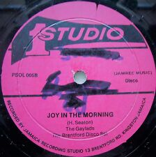 ROCKSTEADY 12 INCH / THE GAYLADS / JOY IN THE MORNING / STUDIO 1 / LISTEN