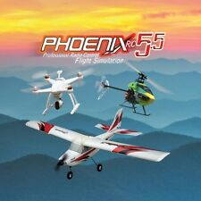 NEW Runtime Games Phoenix R/C Pro Flight Simulator / Sim V5.5 Version w Adapter