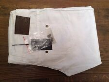 Patrizia Pepe Firenze white womens linen mix white trousers 34' 36L