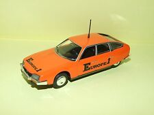 CITROEN CX 2200 1974 EUROPE 1 TOUR DE FRANCE NOREV Sans Boite 1:43 no presse