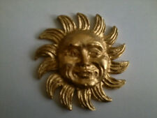 Decorative Resin Moulding - Sun - Gold Painted Finish