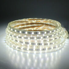 SMD5050 LUZ CINTA TIRA FLEXIBLE LED AC220V 60 LED/M IMPERMEABLE - COLOR A ELEGIR