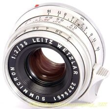 Summicron 1:2/35mm 8-Element 1st Ver. SAWOM / 11308 BOLD Lettering Germany 1968