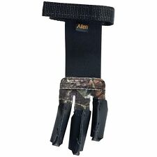 Allen Archery bow 3 finger shooters glove MEDIUM camo M leather saver hunting