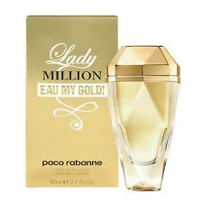 LADY MILLION EAU MY GOLD by Paco Rabanne 2.7 oz / 80 ml EDT SPRAY Women NIB SEAL