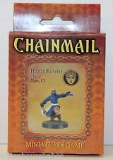 D&D DUNGEONS & DRAGONS - CHAINMAIL Miniatures Game - HUMAN SORCERER Thalos - D20