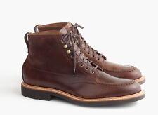 J.Crew Kenton Leather Pacer Boots Men's Size 8.5 D Brown C8867 $248