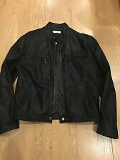 BATA MENS Genuine Italian Leather JACKET  - UK 38 EURO 48- Small