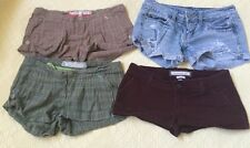 Abercrombie & Fitch, American Eagle Mixed Lot Set Of 4 Shorts Size 00