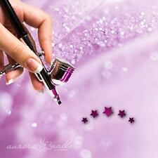 Airbrush sticky templates - W016 - NAILART - Star Star Heaven Evening 80 Pcs