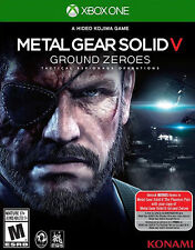 METAL GEAR SOLID V GROUND ZEROES FOR XBOX ONE BRAND NEW IN WRAPPER NO RESERVE