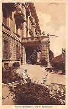 Cartolina - Postcard - Brescia - Casa di Cura Fatebenefratelli - Via Re Galantuo