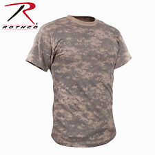 NEW! Rothco Military Tactical Hunting Digital & Camo T-Shirts Short Sleeve