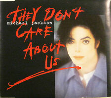 """MICHAEL JACKSON """"THEY DON'T CARE ABOUT US""""  cds 6 tracks"""