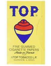 TOP ROLLING PAPERS-10-100 CT. BOOKS. 1000 PAPERS!!