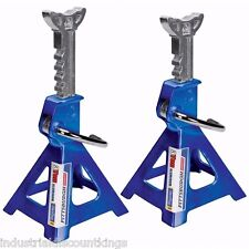 Aluminum Jack Stands 3 Ton 6,000 lb Pair (2) Durable Heavy Duty Car Truck Auto
